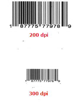 200-600 dpi-barcode-label