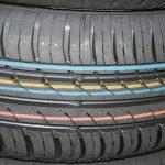 tracciatura colorata pneumatico