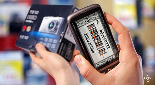 lettura codice a barre con telefono