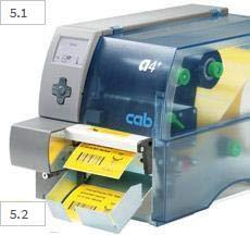 taglierina automatica per stampanti a trasferimento termico