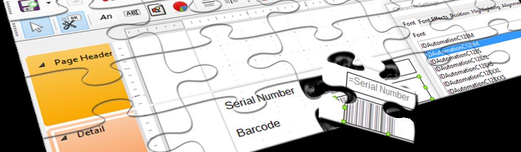 posizione codice a barre
