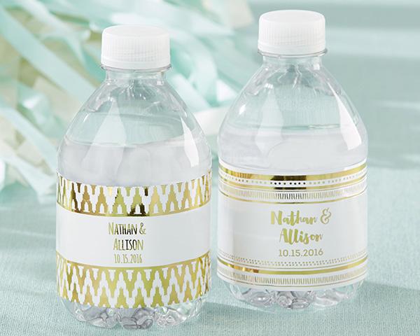 etichette personalizzate per matrimonio per bottiglie acqua