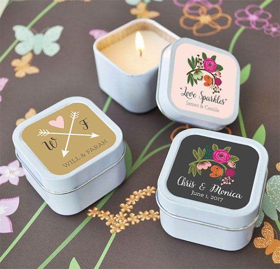 etichette matrimonio per candele