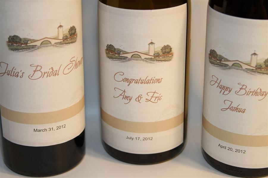 etichette matrimonio per vino