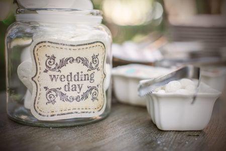 etichette matrimonio