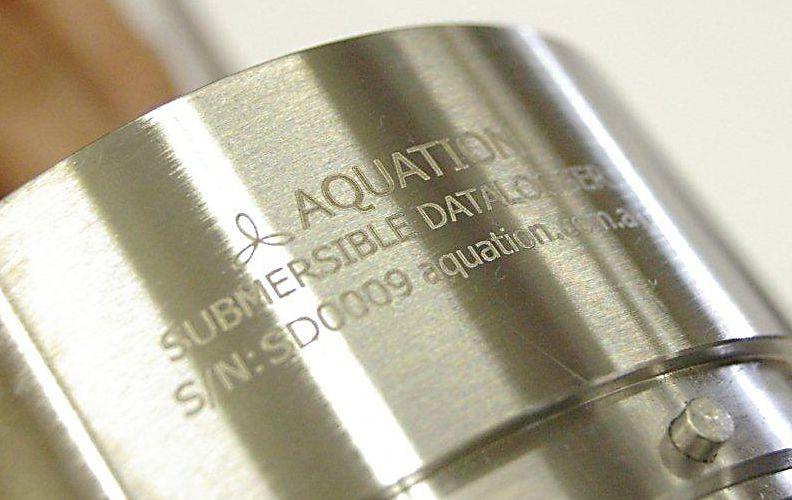 marcatura laser su metallo
