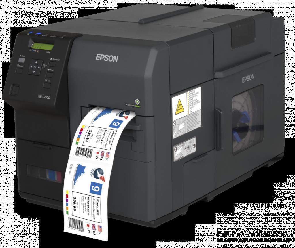 stampante di etichetet a  colori epson 7500
