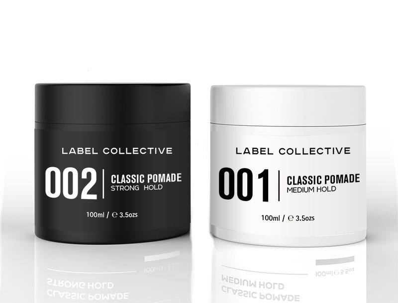 etichetta prodotto con aree bianche