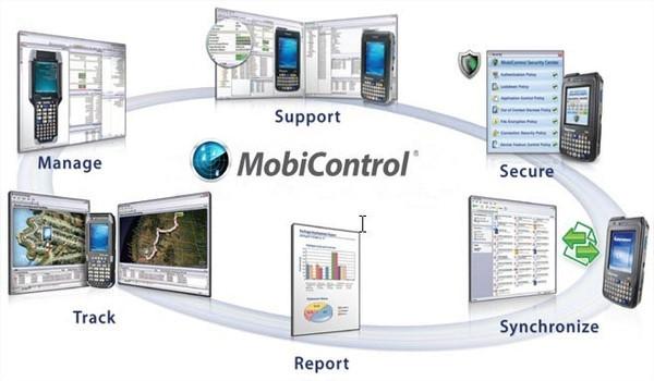 soti control per la gestione del terminale