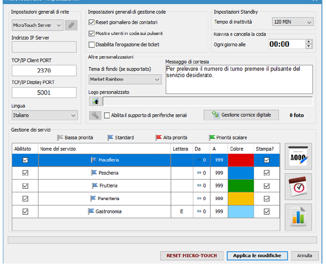eliminacode software di gestione
