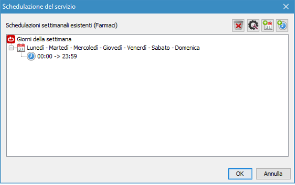 programmazione del servizio sistema eliminacode