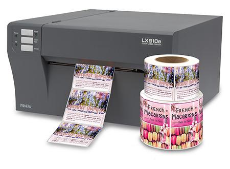 stampante di etichette a colori Primera LX910