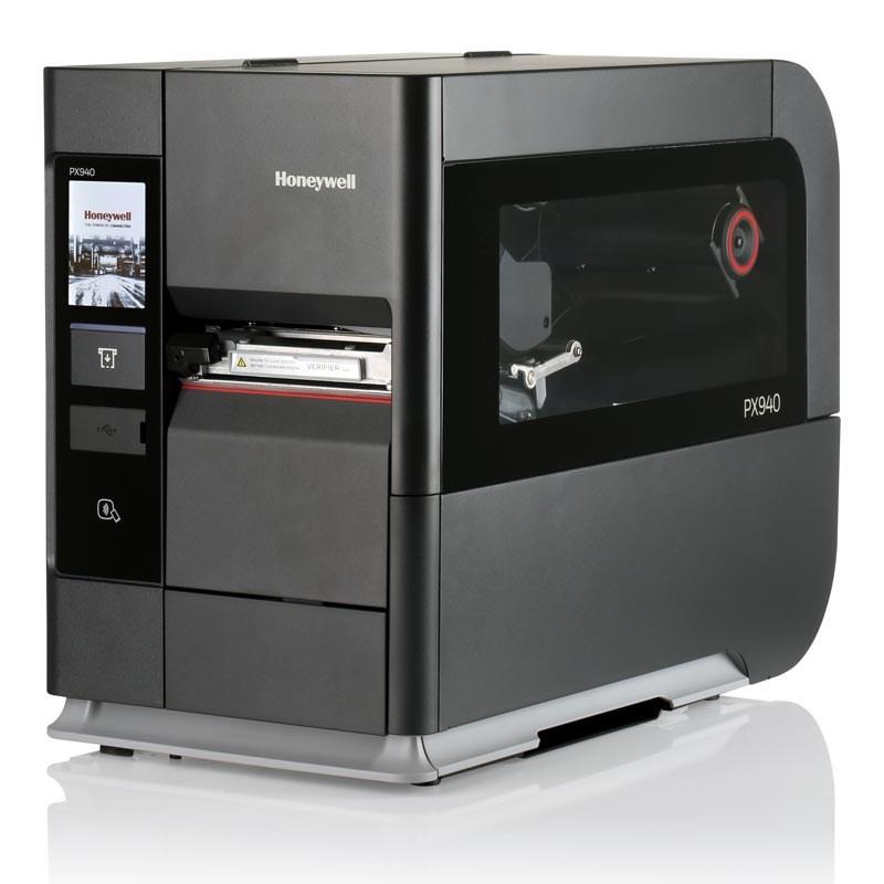 stampante di etichette con verificatore di codice a barre
