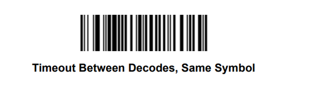 impostazione timeout lettori Zebra stesso codice