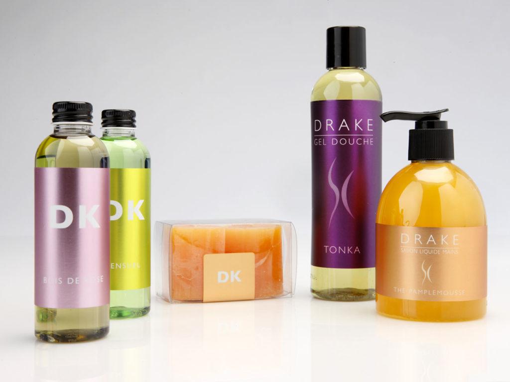 etichette lucide e resistenti per prodotti cosmetici
