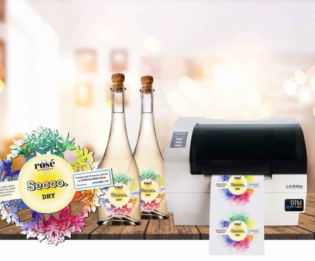 stampante di etichette Primera LX610 per stampa e fustellatura