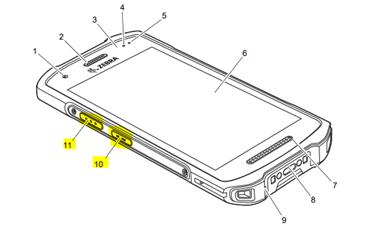 terminale Android Zebra TC21