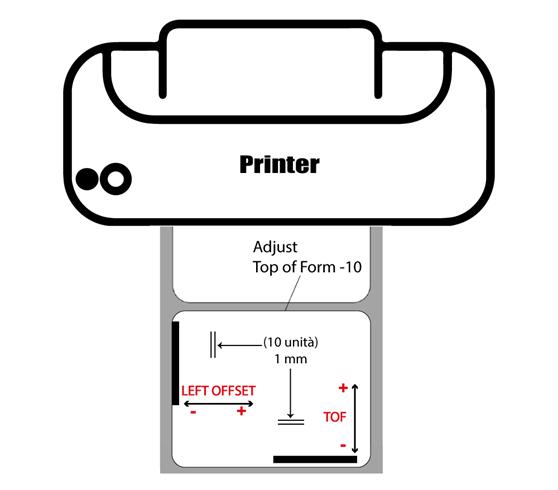 allineamento stampa Primera LX610