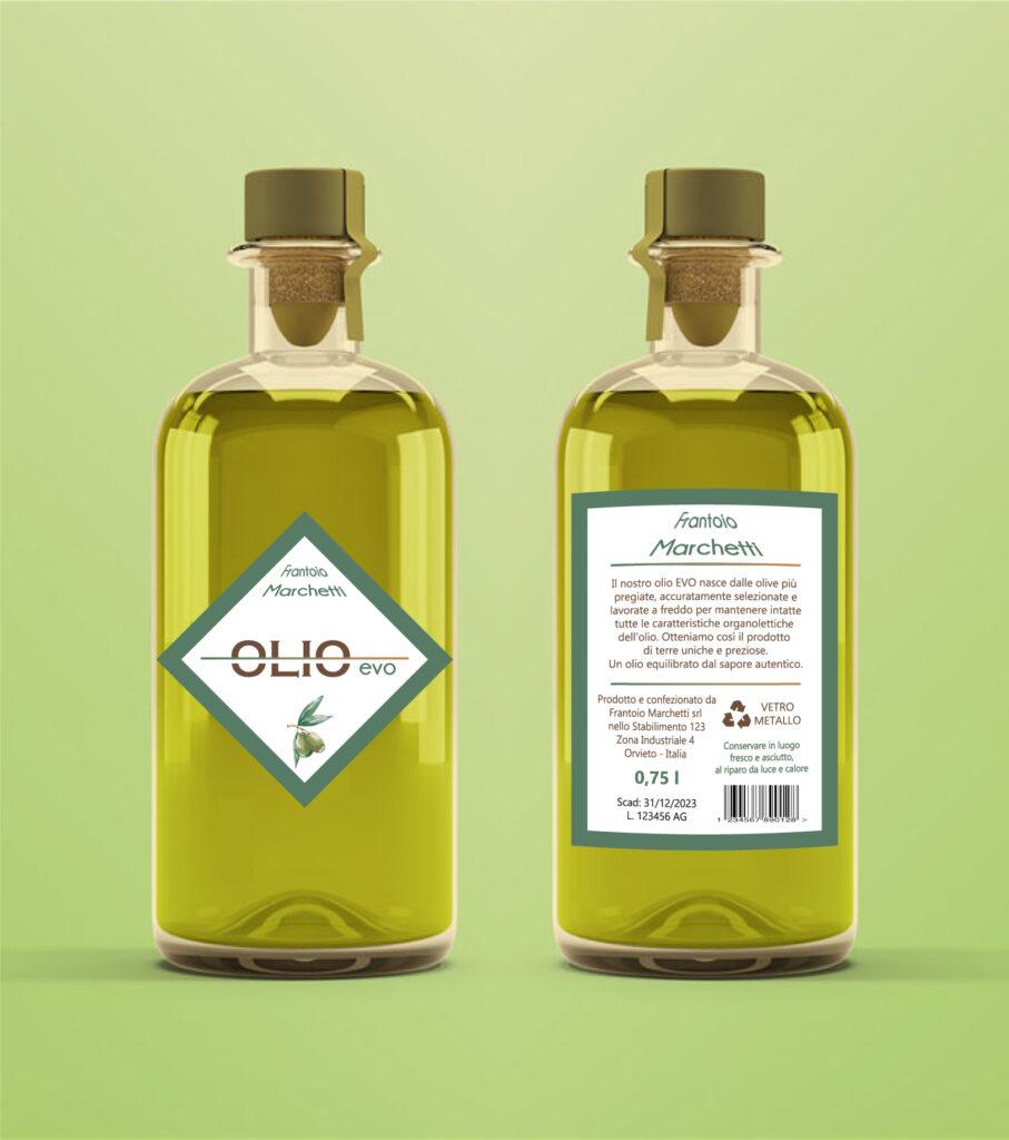 etichette per olio metodi di stampa