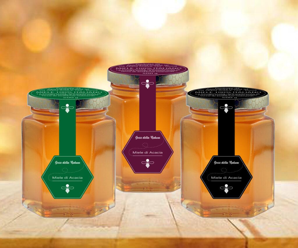 Sigillo di garanzia personalizzato per miele