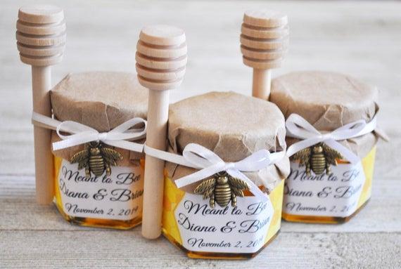 vasetti di miele personalizzati per bomboniere