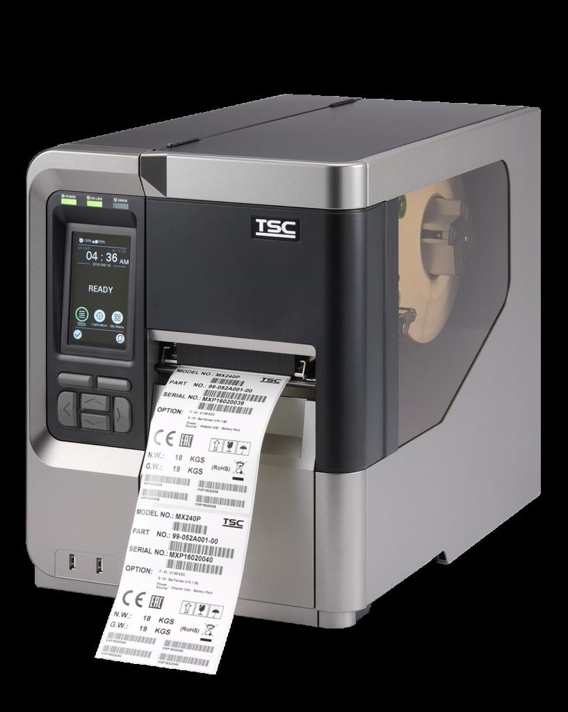 Stampante di etichette TSC serie MX241P
